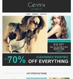 Fashion Newsletter  Template 50929