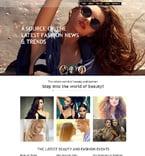 Fashion Muse  Template 50930