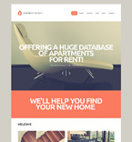 Real Estate WordPress Template 50931