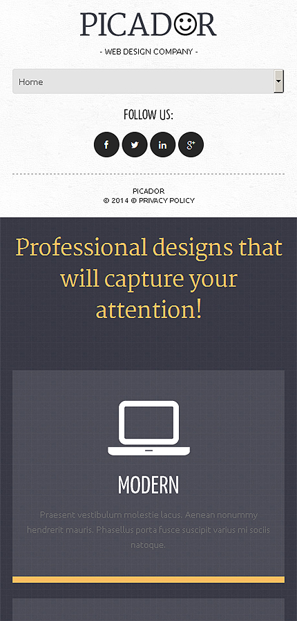 WordPress Theme/Template 50932 Main Page Screenshot