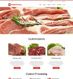 Agriculture WordPress Template 50934