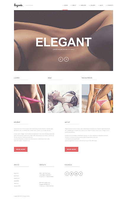 WordPress Theme/Template 50936 Main Page Screenshot