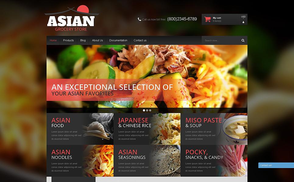 Responzivní Shopify motiv na téma Prodejna potravin New Screenshots BIG
