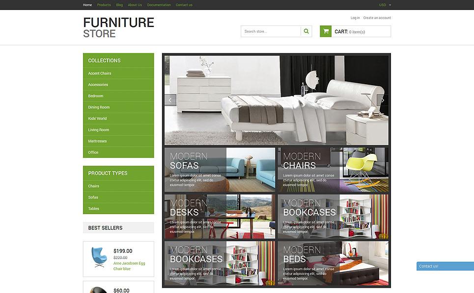 Responsywny szablon Shopify #50939 na temat: meble New Screenshots BIG