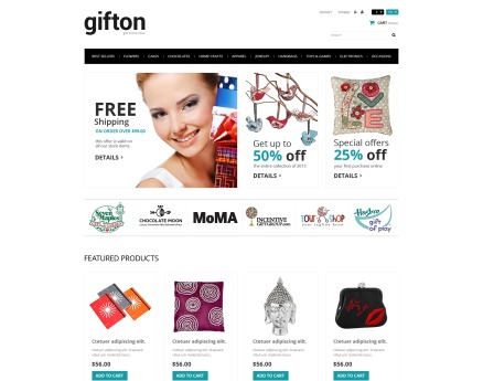 Gift Shop PrestaShop Theme