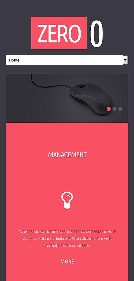 Joomla Theme/Template 50943 Main Page Screenshot