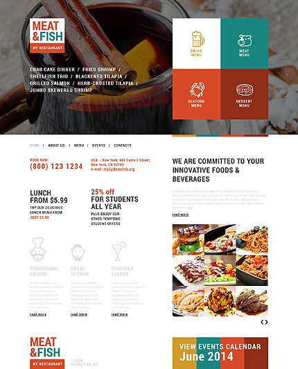 Joomla Theme/Template 50944 Main Page Screenshot