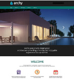 Architecture Website  Template 50945