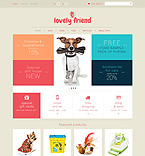 Animals & Pets PSD  Template 50948