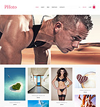 Art & Photography PSD  Template 50950