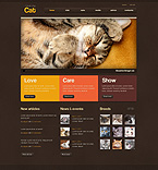 Animals & Pets PSD  Template 50957