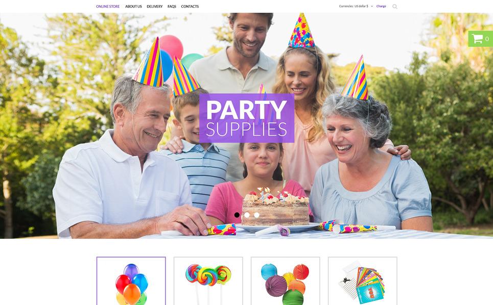 VirtueMart Template over Evenement Planner  New Screenshots BIG