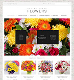 Flowers Website  Template 50971
