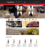 Food & Drink osCommerce  Template 50974
