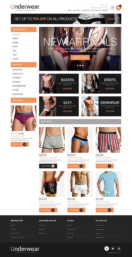 ADOBE Photoshop Template 50977 Home Page Screenshot