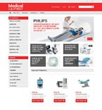 Medical OpenCart  Template 50979