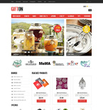 Gifts OpenCart  Template 50980