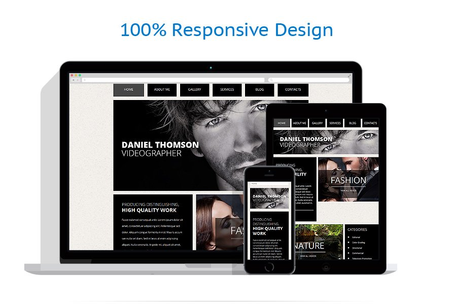 Online Portfolio Template. top 17 services for creating an online ...