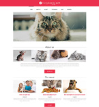 Animals & Pets Drupal  Template 50984