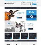 Music PrestaShop Template 50987