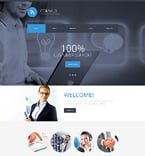 Communications Website  Template 50990