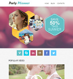 Entertainment Newsletter  Template 50994
