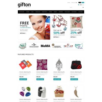 Thème PrestaShop adaptatif  pour boutique de cadeaux