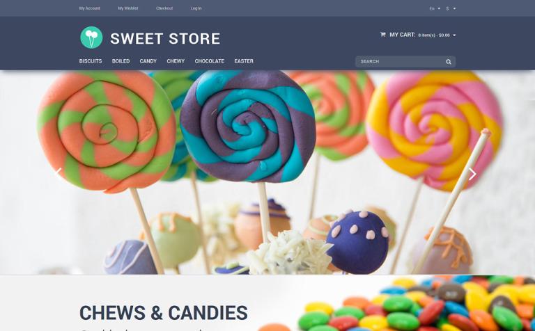 Candy Web Store Magento Theme