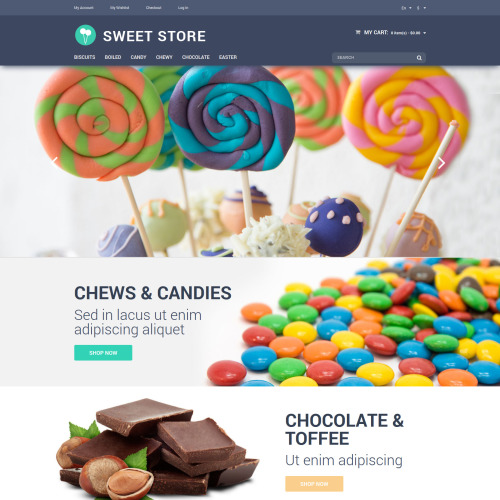 Sweet Store - Magento Template based on Bootstrap