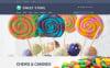 Candy Web Store Tema Magento №50982 New Screenshots BIG