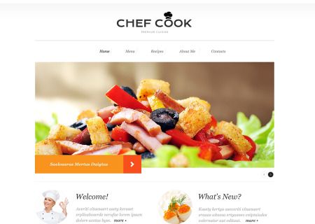 Cooking Responsive