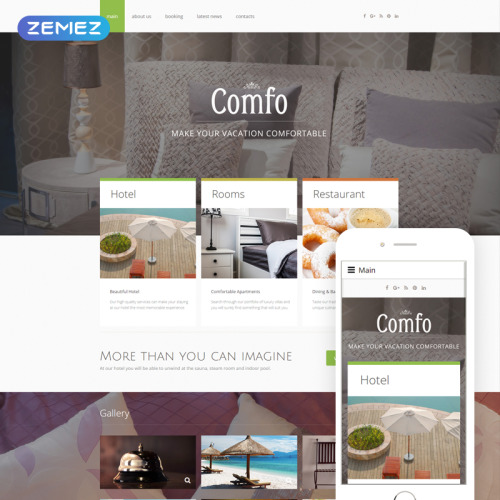 Comfo - Joomla! Template based on Bootstrap