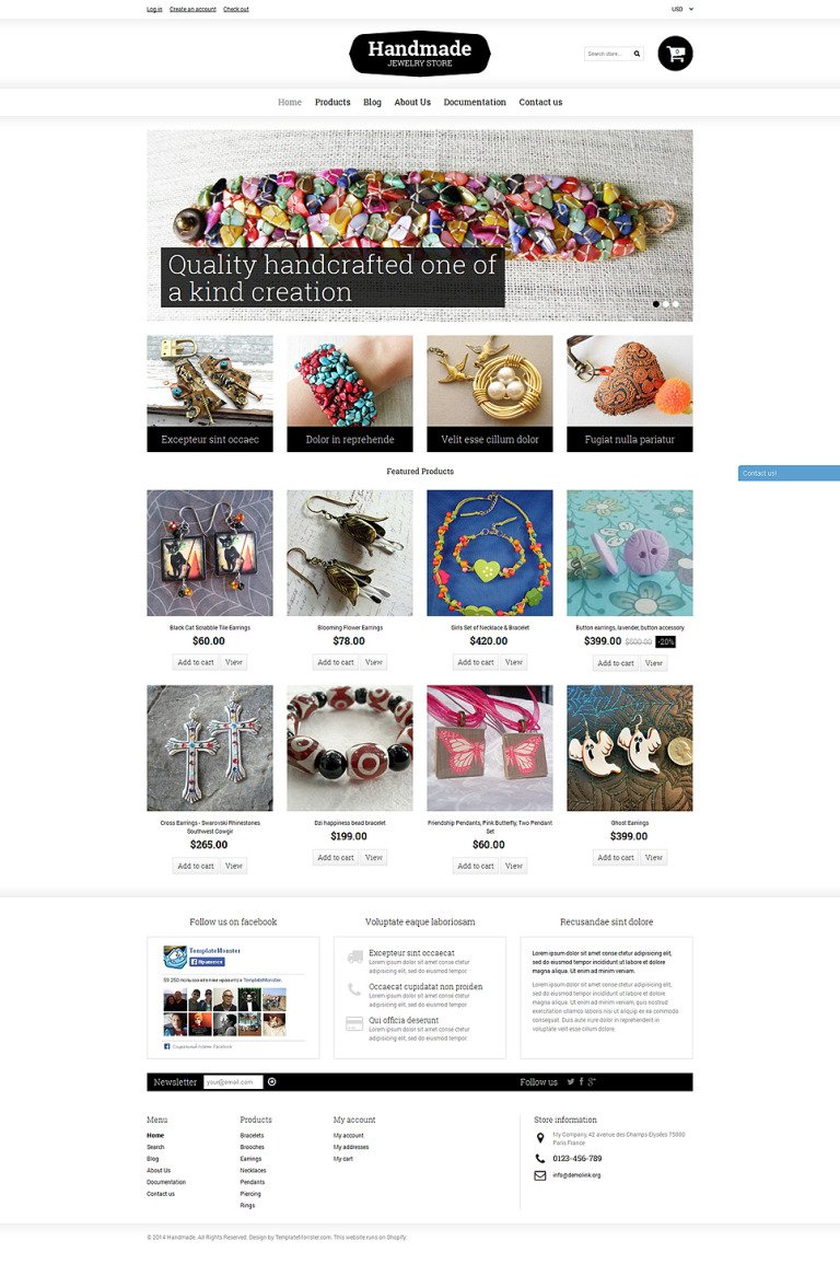 Goodies Store Shopify Theme New Screenshots BIG