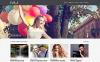 """Happy Moments Videography"" Responsive WordPress thema New Screenshots BIG"