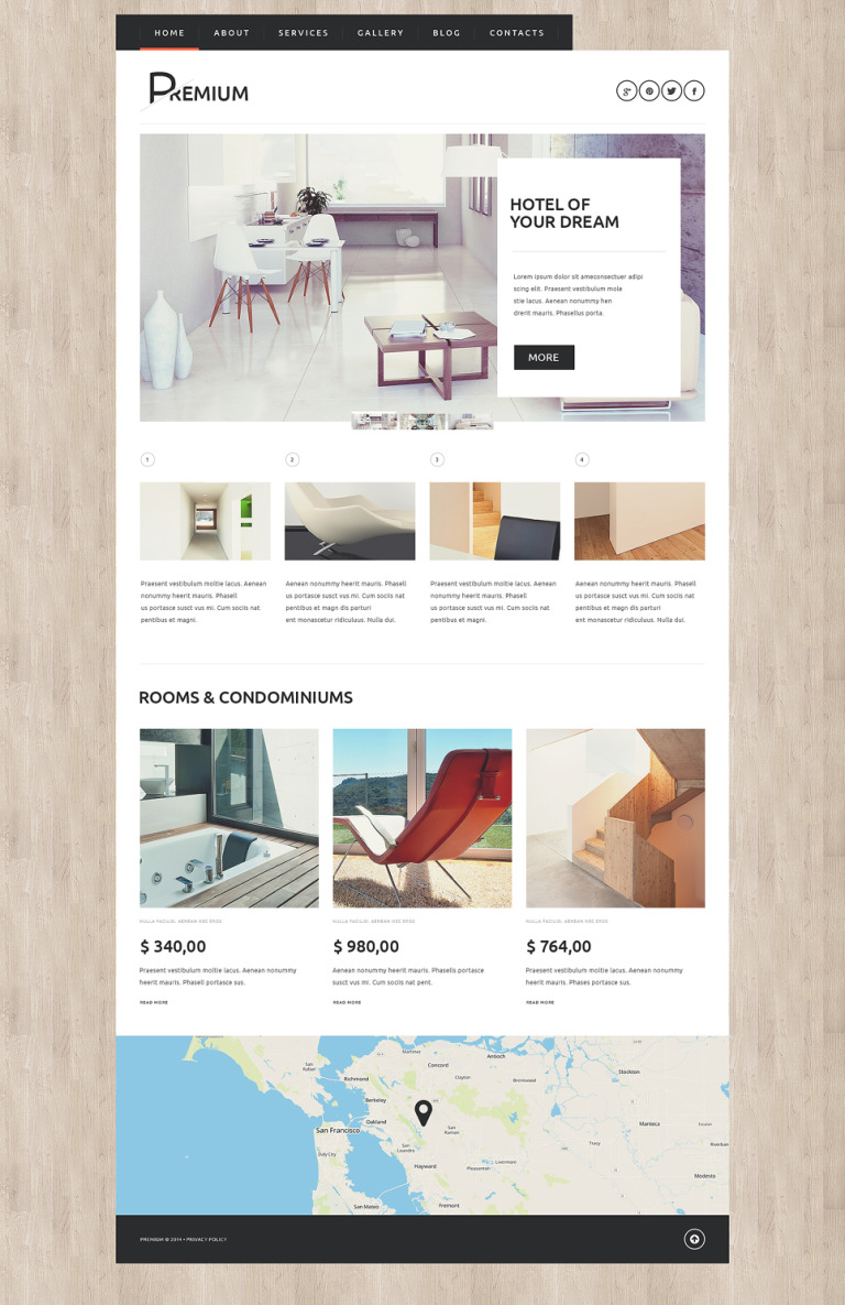 Hotels Booking Agency WordPress Theme New Screenshots BIG