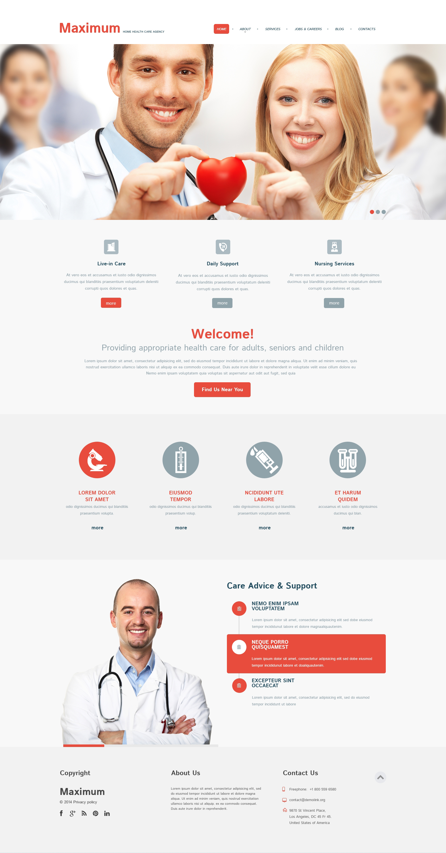 Medical Responsive WordPress Theme - screenshot