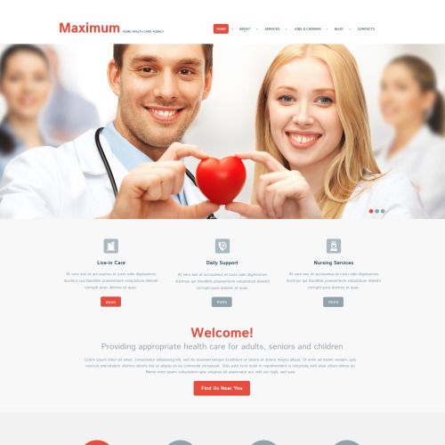 Medical - WordPress Template based on Bootstrap