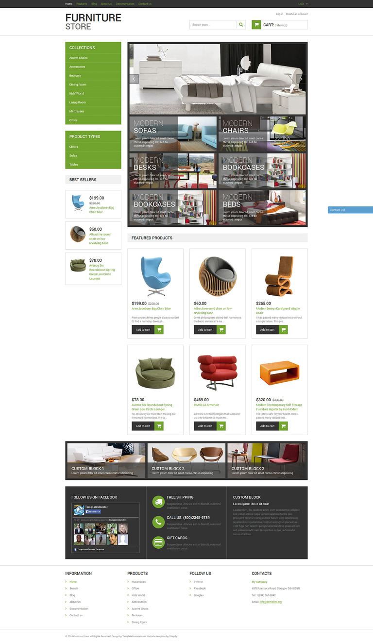 Modern Furniture Shopify Theme New Screenshots BIG