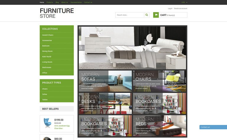 Modern Furniture Shopify Theme