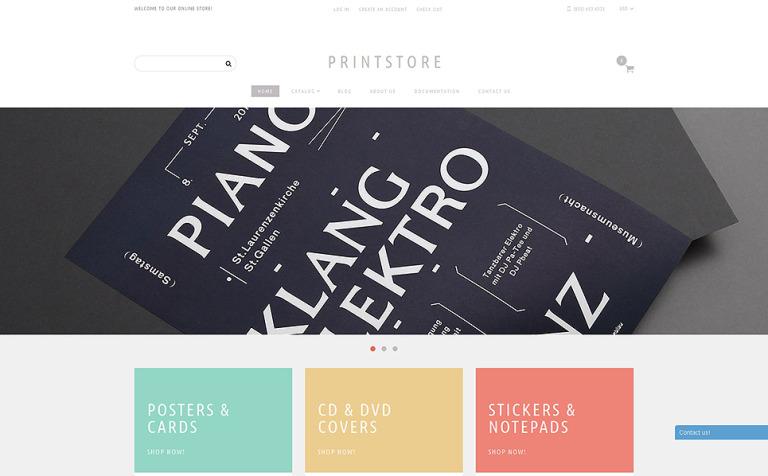 Online Print Shop Shopify Theme