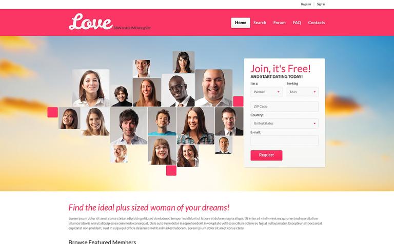 Beispielprofil für Online-Dating