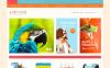 Reszponzív Állatkereskedés témakörű  Magento sablon New Screenshots BIG