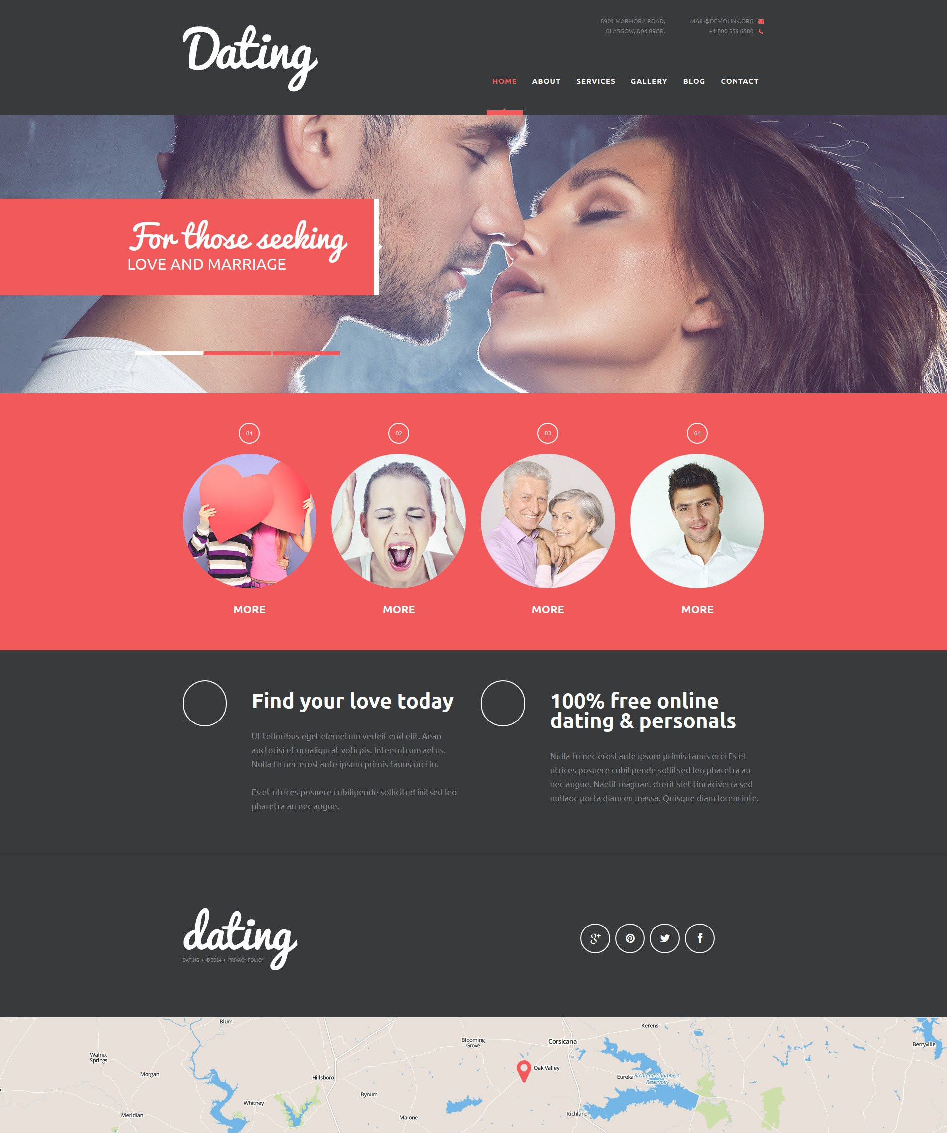 Dating site domain