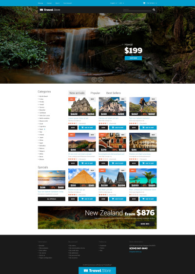 Thrilling Adventures PrestaShop Theme