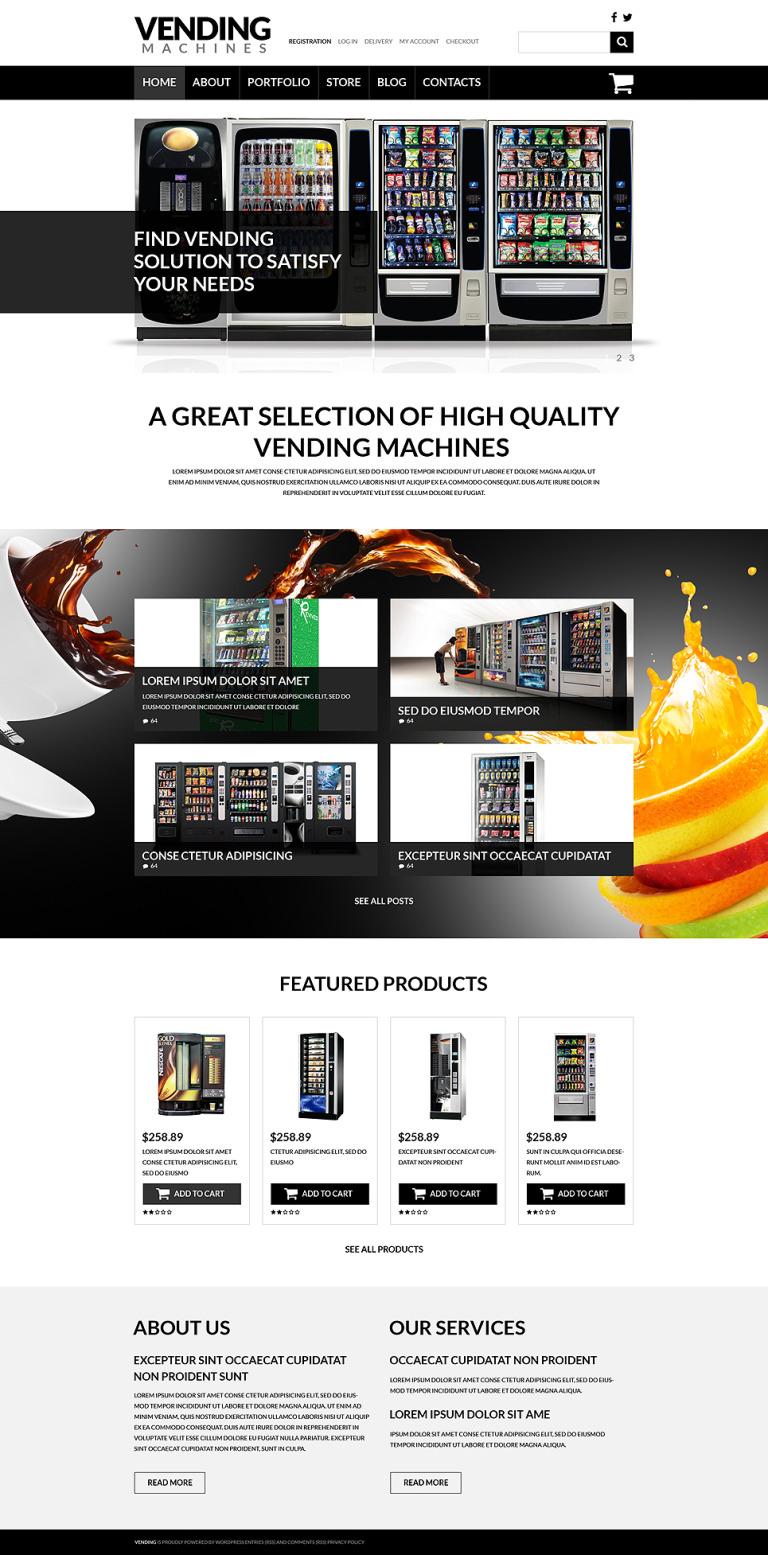 Vending Machine Business WooCommerce Theme New Screenshots BIG