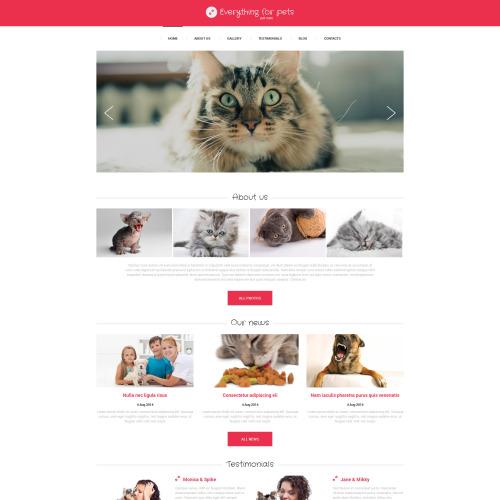 Designing For Pets - HTML5 Drupal Template