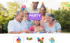 "VirtueMart Vorlage namens ""Party Items"" New Screenshots BIG"