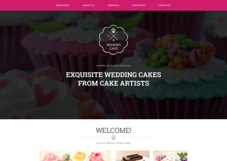 Wedding Cake Responsive