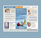 3-Color Website: Medical Online Store/Shop Full Site Clean Style 3 Colors Most Popular