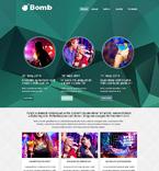 Night Club Website  Template 51004